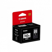 Canon PG-740BK XL (5229B001AA) Black Fine Cartridge (14ml) Genuine Original Printer Ink Cartridge