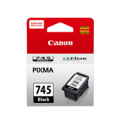 Canon PG-745 (8295B001AA) Black Fine Cartridge (8ml) Genuine Original Printer Ink Cartridge