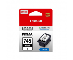 Canon PG-745S (0736C001AA) Black Fine Cartridge (5.6ml) Genuine Original Printer Ink Cartridge