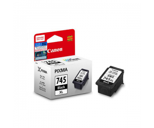 Canon PG-745 XL (8294B001AA) Black Fine Cartridge (12ml) Genuine Original Printer Ink Cartridge