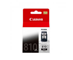 Canon PG-810 (2978B001AA) Black Fine Cartridge (9ml) Genuine Original Printer Ink Cartridge
