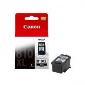 Canon PG-810XL (2977B001AA) Black Fine Cartridge (15ml) Genuine Original Printer Ink Cartridge