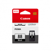 Canon PG-88 (5554B001AA) Black Fine Cartridge (21ml) Genuine Original Printer Ink Cartridge