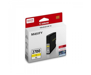 Canon PGI-2700Y XL (9273B001AA) Yellow Ink Tank (19ml) Genuine Original Printer Ink Cartridge