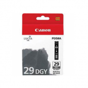 Canon PGI-29DGY (4870B003AA) Dark Gray Ink Tank (36ml) Genuine Original Printer Ink Cartridge