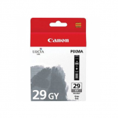 Canon PGI-29GY (4871B003AA) Gray Ink Tank (36ml) Genuine Original Printer Ink Cartridge
