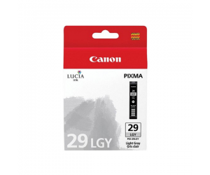 Canon PGI-29LGY (4872B003AA) Light Gray Ink Tank (36ml) Genuine Original Printer Ink Cartridge