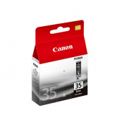 Canon PGI-35BK (1509B003AA) Black Fine Cartridge (9.3ml) Genuine Original Printer Ink Cartridge