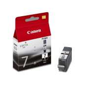 Canon PGI-7BK (2444B003AA) Black Ink Tank (25ml) Genuine Original Printer Ink Cartridge