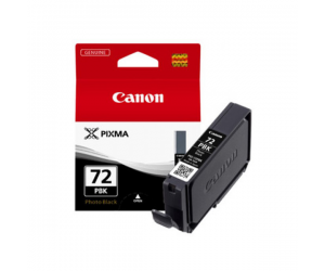 Canon PGI-72PBK (6403B003AA) Photo Black Ink Tank (14ml) Genuine Original Printer Ink Cartridge