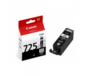 Canon PGI-725BK (4531B001AA) Black Pigment Ink Tank (19ml) Genuine Original Printer Ink Cartridge