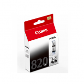 Canon PGI-820BK (2951B001AA) Black Pigment Ink Tank (19ml) Genuine Original Printer Ink Cartridge