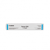 Canon Cartridge 034 (9453B001AA) Cyan Genuine Original Printer Toner Cartridge