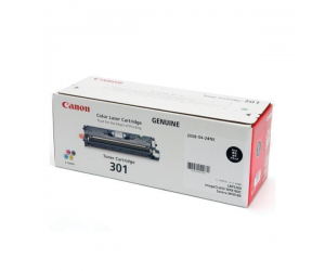 Canon Cartridge 301 (9287A004BA) Black Genuine Original Printer Toner Cartridge