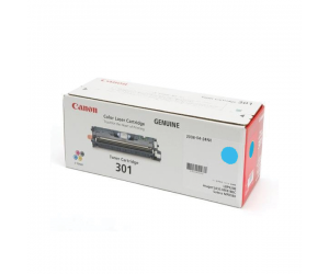 Canon Cartridge 301 (9286A004BA) Cyan Genuine Original Printer Toner Cartridge