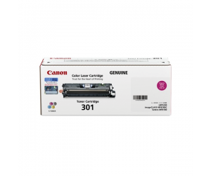 Canon Cartridge 301 (9285A004BA) Magenta Genuine Original Printer Toner Cartridge