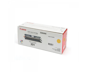 Canon Cartridge 301 (9284A004BA) Yellow Genuine Original Printer Toner Cartridge