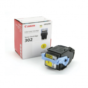 Canon Cartridge 302 (9642A005AA) Yellow Genuine Original Printer Toner Cartridge