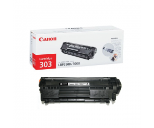 Canon Cartridge 303 (7616A004AA) Black Genuine Original Printer Toner Cartridge