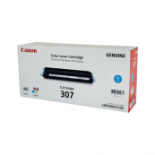 Canon Cartridge 307 (9423A005AA) Cyan Genuine Original Printer Toner Cartridge