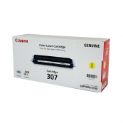 Canon Cartridge 307 (9421A005AA) Yellow Genuine Original Printer Toner Cartridge