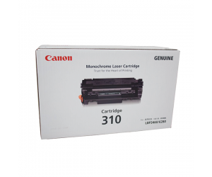 Canon Cartridge 310 (0985B002AA) Black Genuine Original Printer Toner Cartridge