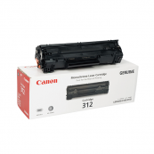 Canon Cartridge 312 (1870B003AA) Black Genuine Original Printer Toner Cartridge