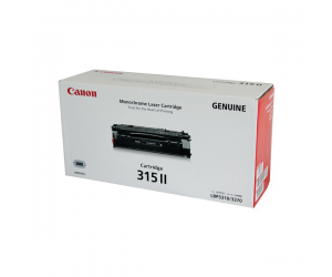 Canon Cartridge 315 II (1976B003AA) Black Genuine Original Printer Toner Cartridge