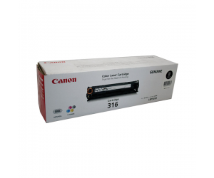 Canon Cartridge 316 (1980B003AA) Black Genuine Original Printer Toner Cartridge