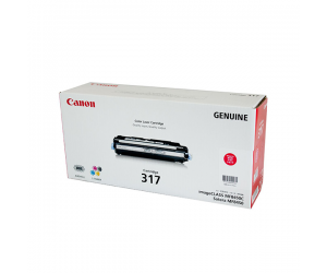 Canon Cartridge 317 (2576B003BA) Magenta Genuine Original Printer Toner Cartridge