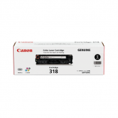 Canon Cartridge 318 (2662B003AA) Black Genuine Original Printer Toner Cartridge