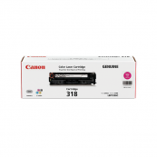 Canon Cartridge 318 (2660B003AA) Magenta Genuine Original Printer Toner Cartridge