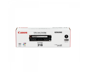 Canon Cartridge 318 VP (2662B006AA) Black Genuine Original Printer Toner Cartridge