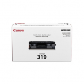 Canon Cartridge 319 (3479B003AA) Black Genuine Original Printer Toner Cartridge
