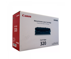 Canon Cartridge 320 (2617B003AA) Black Genuine Original Printer Toner Cartridge