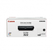Canon Cartridge 322 (2652B001BA) Black Genuine Original Printer Toner Cartridge