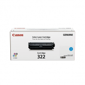Canon Cartridge 322 (2650B001BA) Cyan Genuine Original Printer Toner Cartridge
