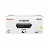 Canon Cartridge 322 (2646B001BA) Yellow Genuine Original Printer Toner Cartridge