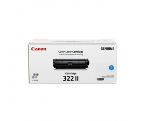Canon Cartridge 322 II (2651B001AA) Cyan Genuine Original Printer Toner Cartridge