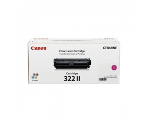 Canon Cartridge 322 II (2649B001AA) Magenta Genuine Original Printer Toner Cartridge