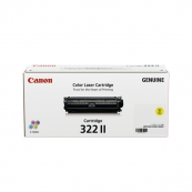 Canon Cartridge 322 II (2647B001AA) Yellow Genuine Original Printer Toner Cartridge
