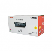 Canon Cartridge 323 (2641B003BA) Yellow Genuine Original Printer Toner Cartridge