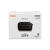 Canon Cartridge 324 II (3482B003AA) Black Genuine Original Printer Toner Cartridge