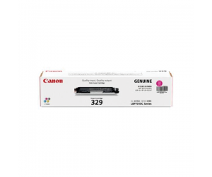 Canon Cartridge 329 (4368B003AA) Magenta Genuine Original Printer Toner Cartridge