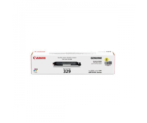 Canon Cartridge 329 (4367B003AA) Yellow Genuine Original Printer Toner Cartridge