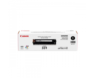 Canon Cartridge 331 (6272B003AA) Black Genuine Original Printer Toner Cartridge