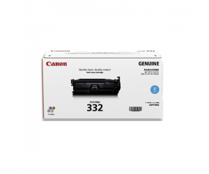 Canon Cartridge 332 (6262B003AA) Cyan Genuine Original Printer Toner Cartridge