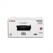 Canon Cartridge 332 (6261B003AA) Magenta Genuine Original Printer Toner Cartridge