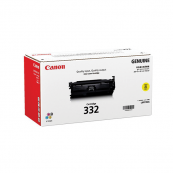 Canon Cartridge 332 (6260B003AA) Yellow Genuine Original Printer Toner Cartridge