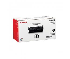 Canon Cartridge 333 (8026B001AA) Black Genuine Original Printer Toner Cartridge